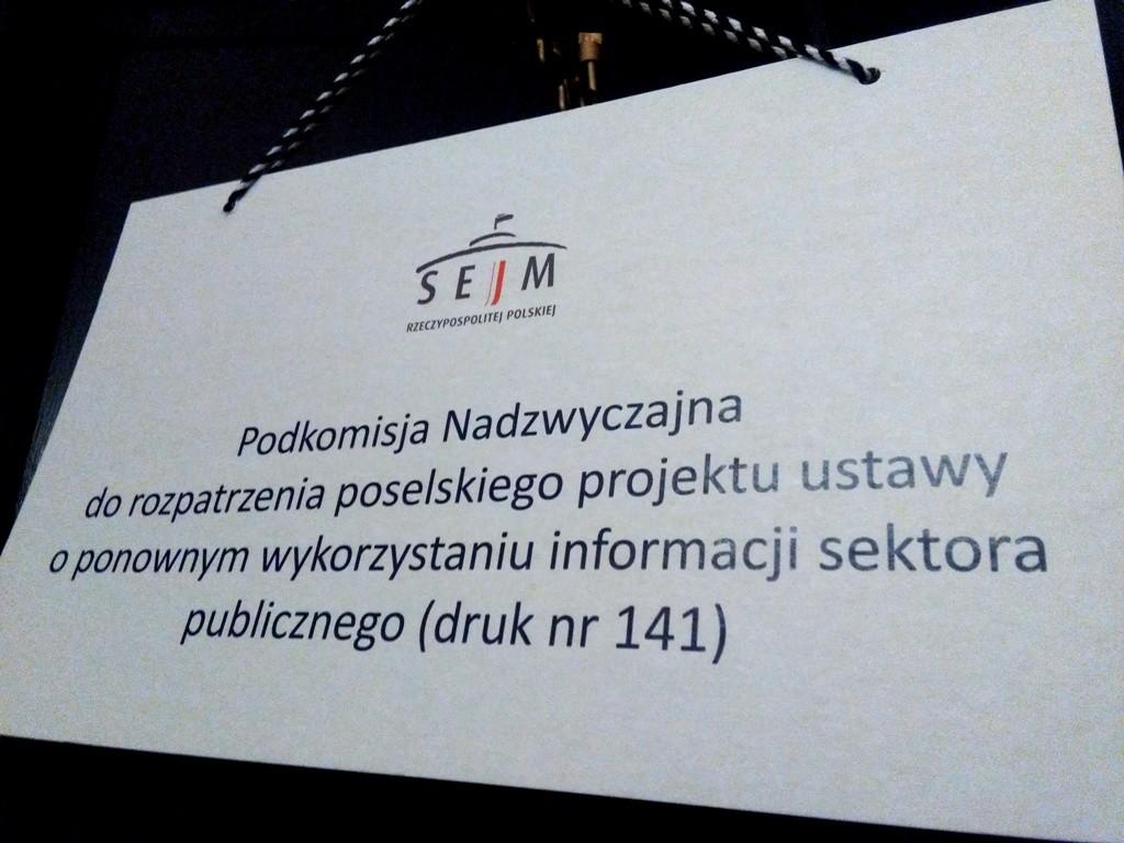 ponowne wykorzystanie informacji sektora publicznego